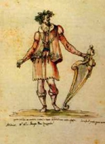 Jacopo Peri as Orfeo