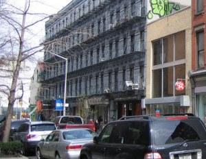 258-268 Elizabeth Street New York ca. 2009