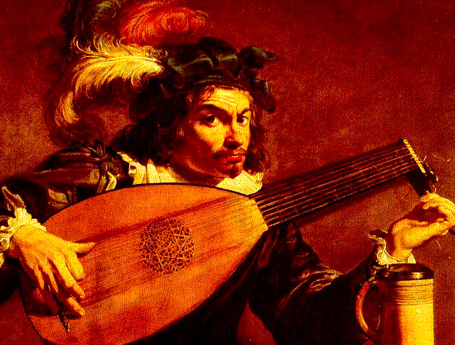 A 17th century lutenist, not Falconieri
