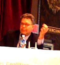 Senator Franken at #fmc09